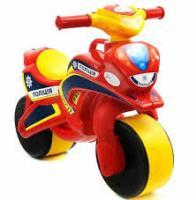 Біговел Doloni Мотоцикл POLICE Червоно-жовтий (0138/560-RT)