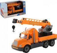 Майк, автомобіль-кран з поворотною платформою (в коробці) 61966