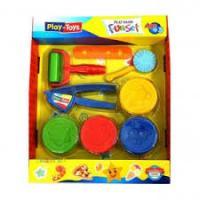 Набір для леплення «Funset» з інструментами Play Toys (6785)