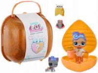 Ігровий набір з лялькою L.O.L. - Серце-сюрприз у жовтогарячому кейсі (556268)