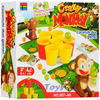 Настільна гра 007-60 CRAZY MONKEY