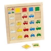 Класифікація Знайди гараж Lam Toys 18 деталей