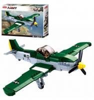 Конструктор SLUBAN Військовий літак M38-B0857