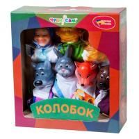 Ляльковий театр Колобок (7 персонажів)