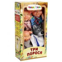Ляльковий театр Троє поросят (4 персонажа)