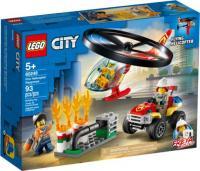 LEGO City 60248 Пожежний рятувальний вертоліт