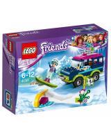 Конструктор LEGO Friends Гірськолижний курорт: позашляховик 141 деталь (41321)
