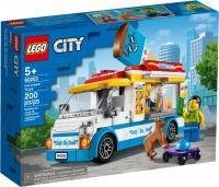 Конструктор LEGO City Great Vehicles Фургон із морозивом 200 деталей (60253)