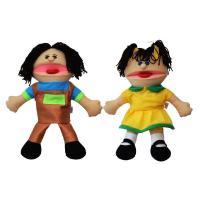 Лялька-рукавичка Puppets Хлопчик , дівчинка (ціна за шт)