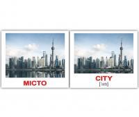 Картки Домана україно-англійські «Місто/City»