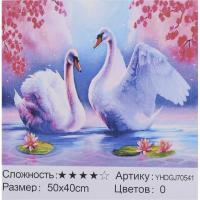 КАРТИНА ПО НОМЕРАМ + АЛМАЗНАЯ МОЗАЙКА 2В1 YHDGJ 70541 50Х40СМ.