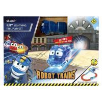 Ігровий набір Silverlit Robot trains Станція Кея звуковий (80170)