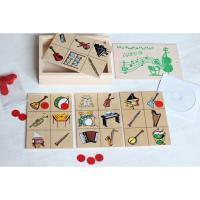 Лото Звуки музичних інструментів Lam Toys 4 деталі