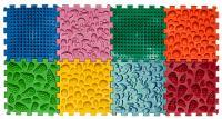 """Масажний килимок """"Мікс Пазли"""", 8 елементів - Ortek"""