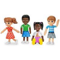 Розвиваючий набір Фігурки дітей (4 ляльки) від Lakeshore