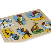 Рамка-вкладка Екзотичні птахи Lam Toys 7 деталей