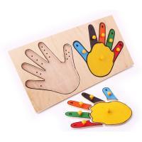 Рамка-вкладка Руки математика Lam Toys 12 деталей