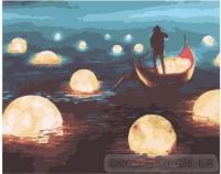 Картина по номерах  Морські світила 40х50 (BK1012)