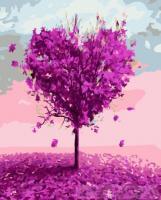 Картина по номерах  З любов'ю 40х50 (BK1103)