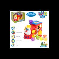 """Розвиваюча іграшка """"Паровозик-Розумник"""", LimoToy, 556"""