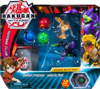 Ігровий набір Spin Master Bakugan Battle planet Бакугани Сіндеус і Трокс (SM64425-1)