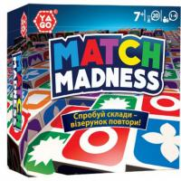 Настільна гра Yago - MATCH MADNESS  MATCH-ML