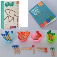 Дерев'яна іграшка Гра MD 2717 головоломка, палички-сірники